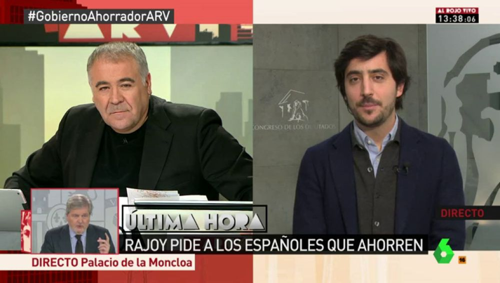 Toni Roldán, portavoz económico de Ciudadanos