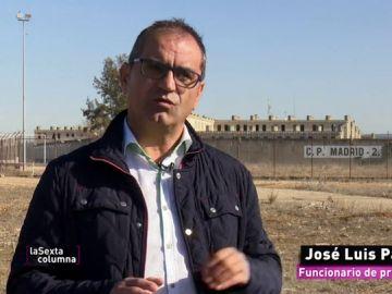 Jose Luis Pascual, funcionario de prisiones