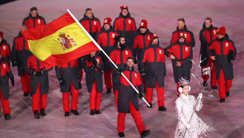 Lucas Eguibar encabeza la delegación española en los Juegos de Invierno