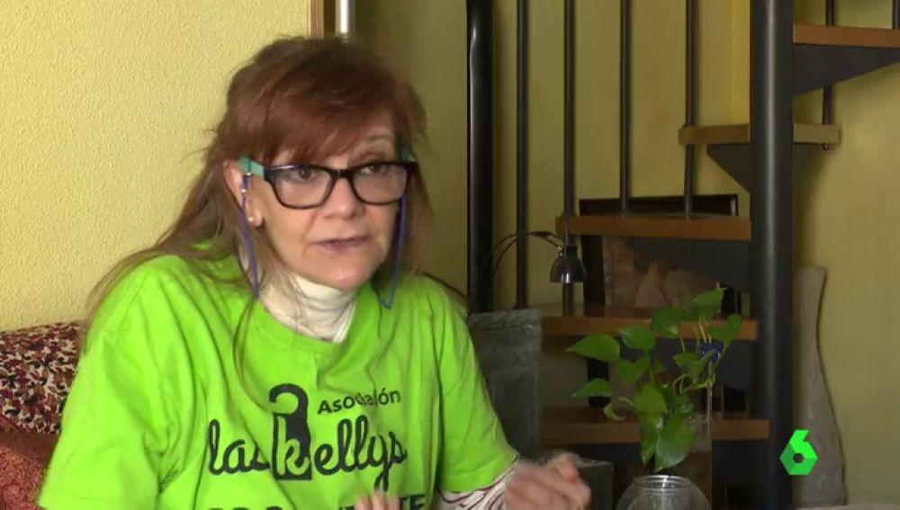 Ángela Muñoz, portavoz de 'Las Kellys'