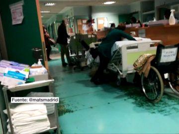 Cientos de personas reclaman mejoras en la Sanidad Pública en el Hospital 12 de octubre