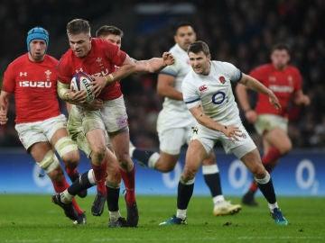 Gales, contra Inglaterra