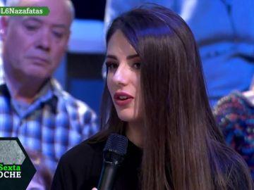 Paola Pinar, azafata