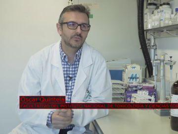 Óscar Quintela, facultativo del Instituto Nacional de Toxicología