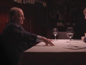 José María García, con Jordi Évole
