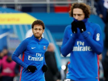 Rabiot, detrás de Neymar