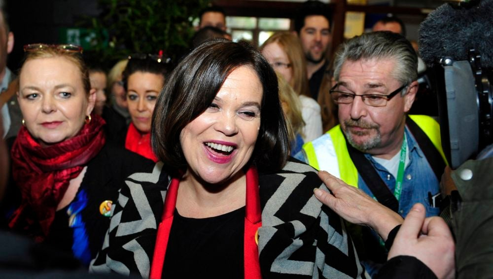 Mary Lou McDonald, la nueva líder del partido Sinn Féin