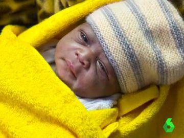 Imagen de la bebé Mercy