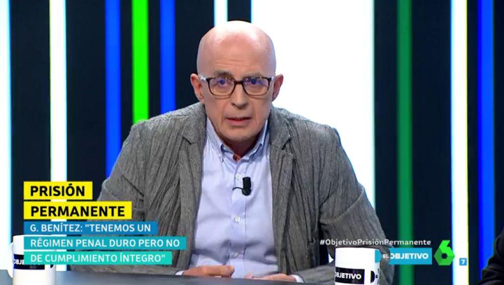 El exvocal del CGPJ José Manuel Gómez Benítez