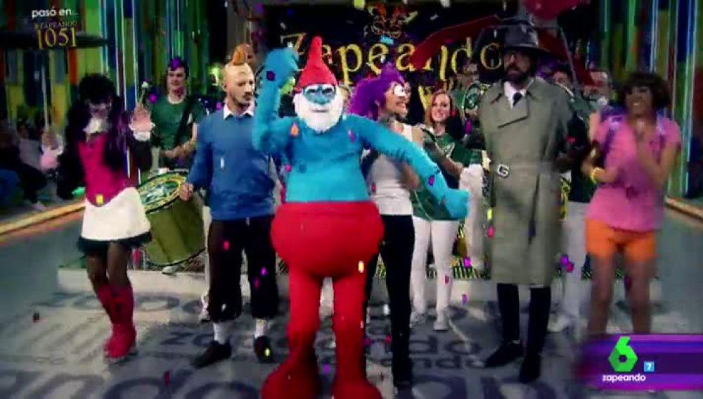 """La lluvia de críticas de Miki Nadal sobre """"el espantoso ridículo"""" de Zapeando Carnaval"""