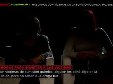 Dos víctimas de una agresión sexual mediante sumisión química