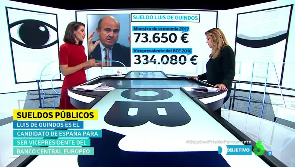¿Cuánto cobrará Luis de Guindos si consigue ser vicepresidente del Banco Central Europeo?