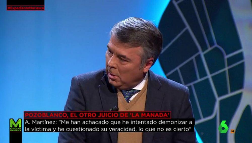 Martínez, abogado de tres miembros de 'la Manada'