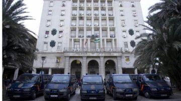 Edificio de la Audiencia de Sevilla