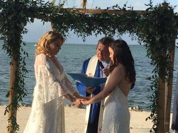 Fotografía de la boda entre Jocelyn Morffi y Natasha Hass