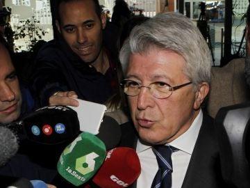 """Enrique Cerezo se muestra """"encantado"""" con la final de Copa en el Wanda"""