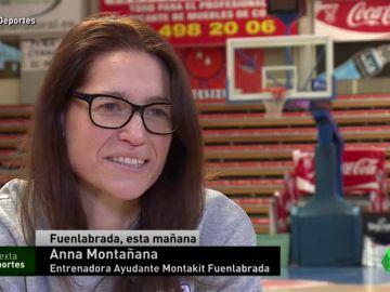 Anna Montañana hace historia al convertirse en entrenadora ayudante del Montakit Fuenlabrada