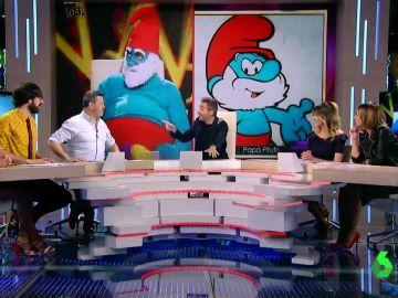 El 'zasca' de Frank Blanco a Miki Nadal tras meterse con su 'gordura' disfrazado de Papá Pitufo