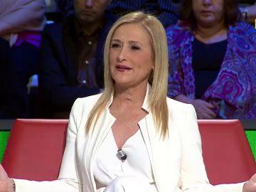 Cristina Cifuentes visita este sábado en laSexta Noche