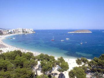 Imagen de la costa de Calviá, Mallorca