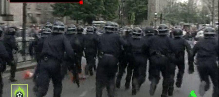 Preocupación en Madrid por la llegada de los ultras del PSG