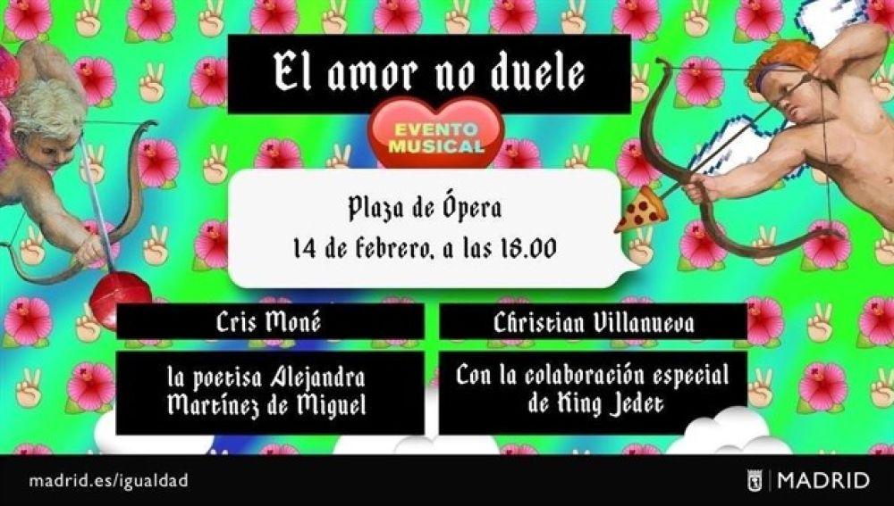 Campaña por San Valentín del Ayuntamiento de Madrid