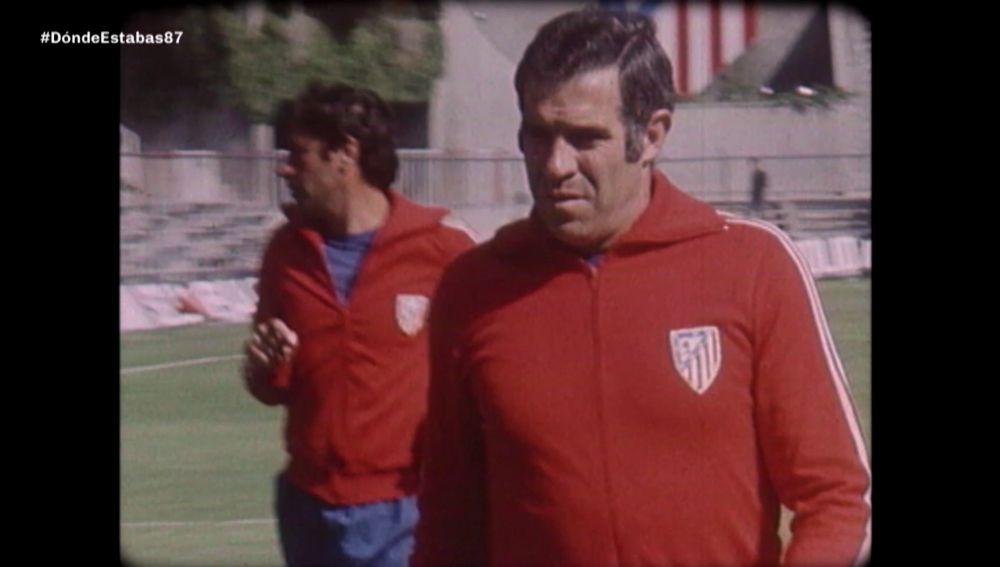 Luis Aragonés en 1987
