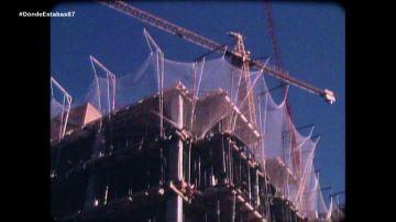 Una obra en 1987