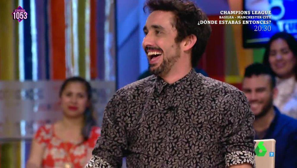El actor Canco Rodríguez visita Zapeando