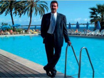 Luis Riu Güell en una imagen promocional de sus hoteles