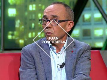 Joan Coscubiela analiza la actualidad este sábado en laSexta Noche