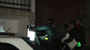 Vienda de La Viñuela donde un hombre ha asesinado a su novia