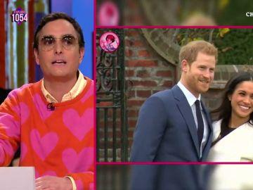 Josie y el príncipe Harry y Meghan Markle