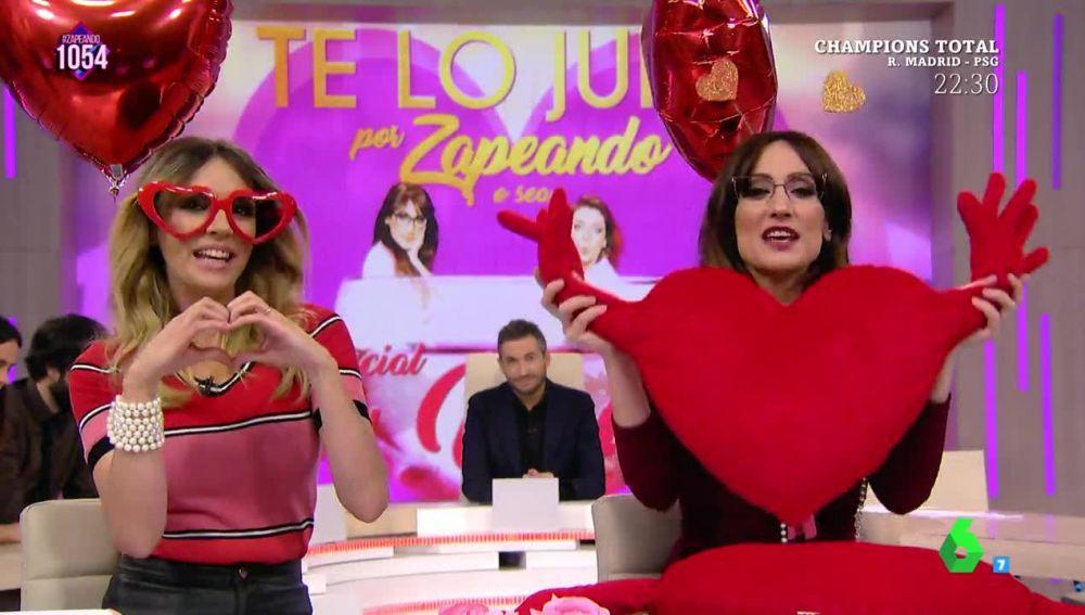 La crítica de Cuqui y Puchi a los regalos saludables por San Valentín