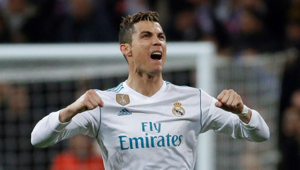 Cristiano Ronaldo celebra un gol
