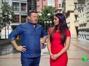 Cristina Pedroche y Miki Nadal muestran cómo funciona la 'Técnica Hernando'