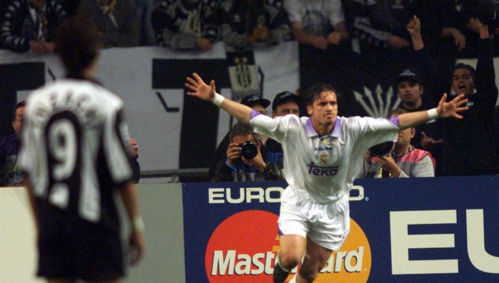 MIjatovic celebra su gol ante la Juventus