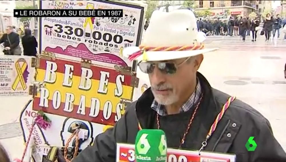 Antonio Iniesta, busca a su hermano robado