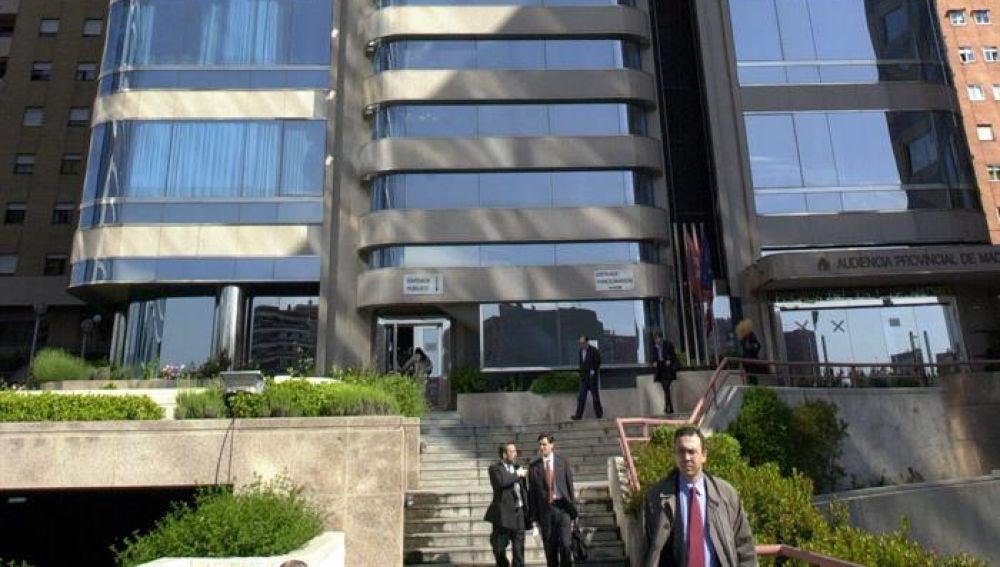 Edificio de la Audiencia Provincial de Madrid