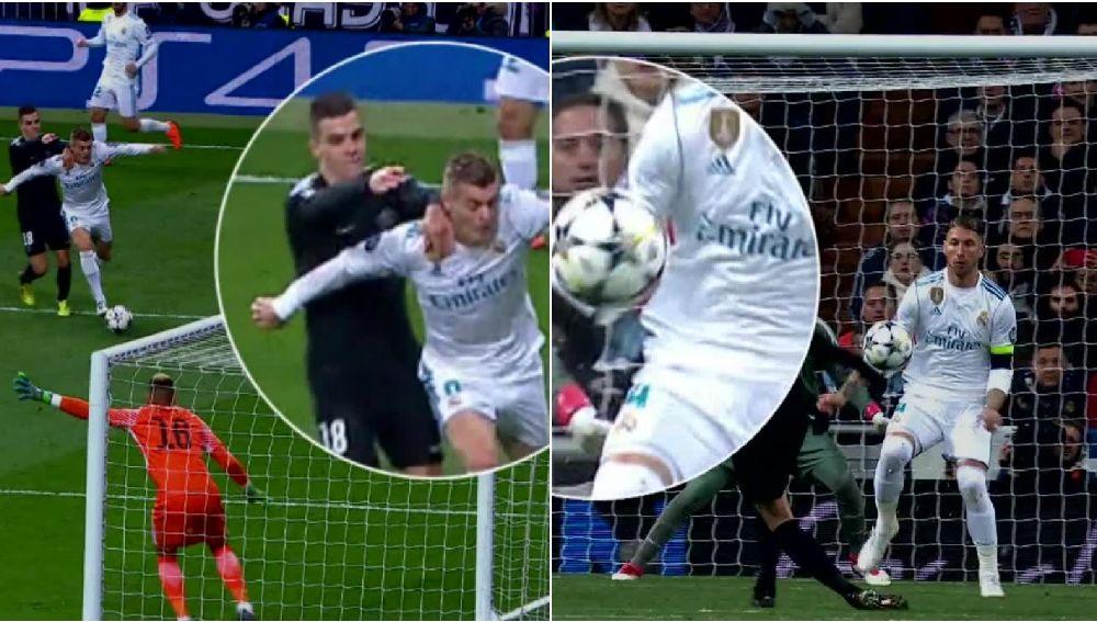 Las jugadas polémicas del Real Madrid - PSG