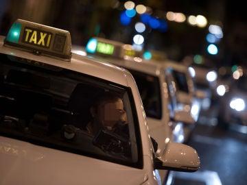 Imagen de archivo de un taxi