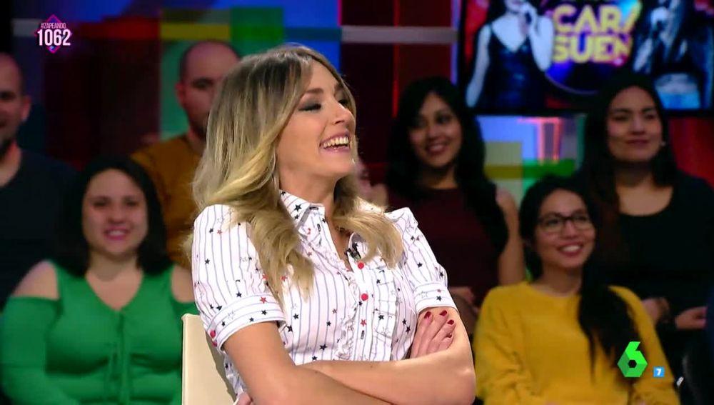 La reacción de Anna Simon tras las buenas críticas de 'Lo Malo'