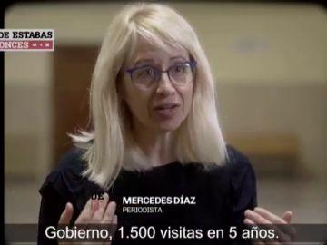 Mercedes Díaz, periodista, en Dónde estabas entonces