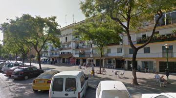 Imagen del barrio sevillano de Los Pajaritos