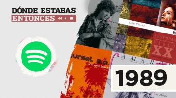 Lista reproducible Spotify 1989 Dónde estabas entonces