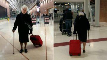 Irma, voluntaria a los 93 años