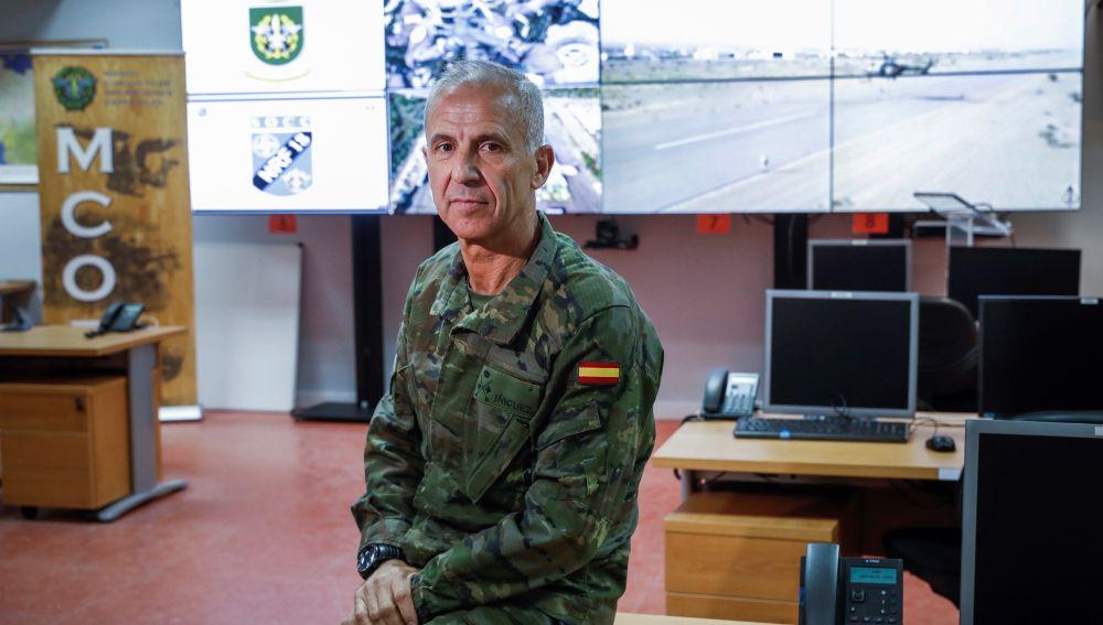 El general de Brigada Jaime Íñiguez manda desde enero y hasta finales de año el Componente de Operaciones Especiales de la OTAN