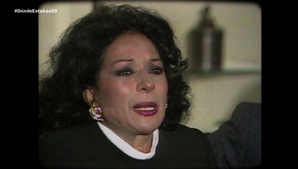 Lola Flores, Dónde estabas entonces 1989