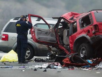 Imagen de archivo de un accidente de tráfico.