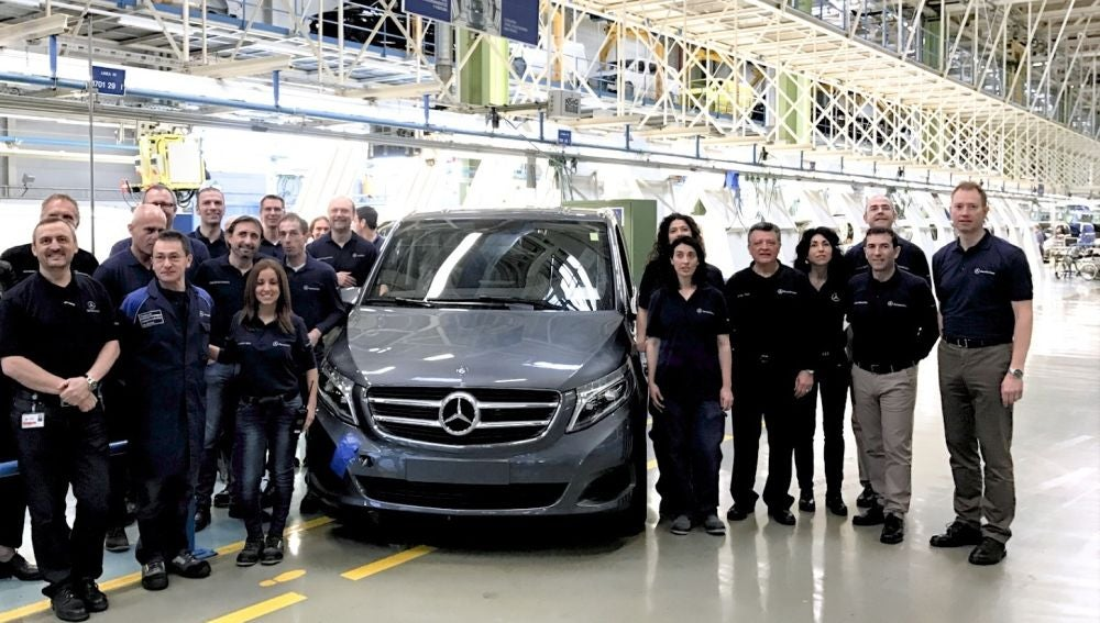 52eda31a6f7d6 Hito en Vitoria! Mercedes-Benz ya ha fabricado allí 100.000 unidades ...